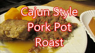 Southern Style pork roast with sweet potato gravy by Louisiana Cajun Recipes