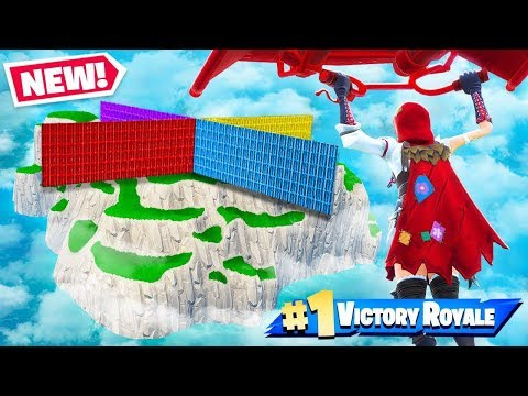 Spawn Island WALL WARS *NEW* Gamemode In Fortnite Battle Royale