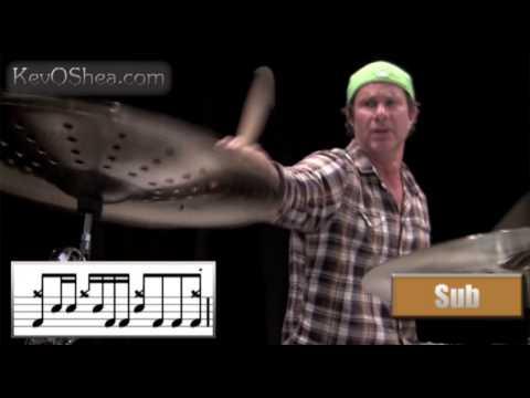 ★ Advanced Drum Lesson ★ Chad Smith Drum Transcription