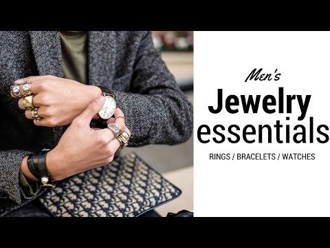 My Jewelry Essentials | Mens Statement Jewelry Haul