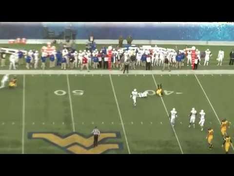 Dexter McDonald Game Highlights vs West Virginia 2015 video.