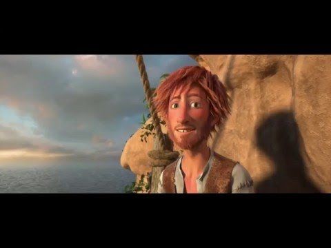Preview Trailer Robinson Crusoe, trailer italiano