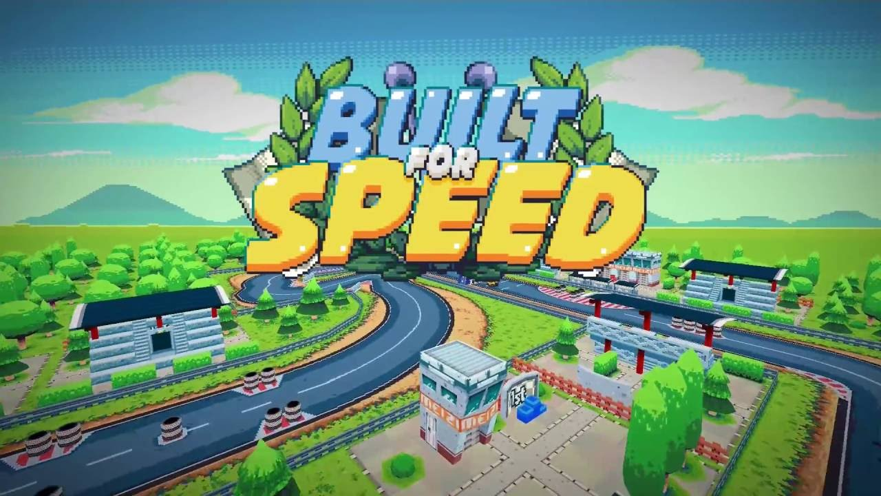 Retro Top-Down Racer 'Built for Speed' Soft Launches, Lets You Create Your Own Race Tracks