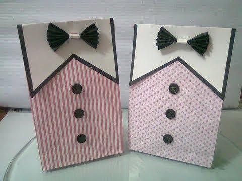 DIY : #4 Cute Paper Bags For Gift ♥