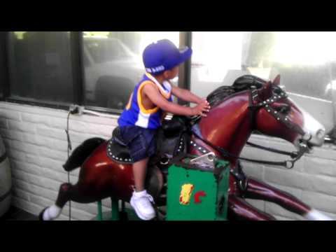 DPP3 Rides a horse at Lazano's in Palo Alto