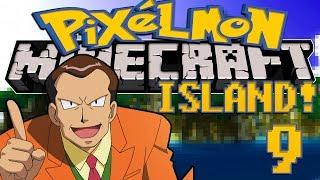 Minecraft: Pixelmon Island (Pokemon Mod) #9 BOSS CHALLENGE!