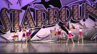"""""""Let's Dance"""" performed by Central Valley Cheer part of the Central Valley STARS Dance Studio."""