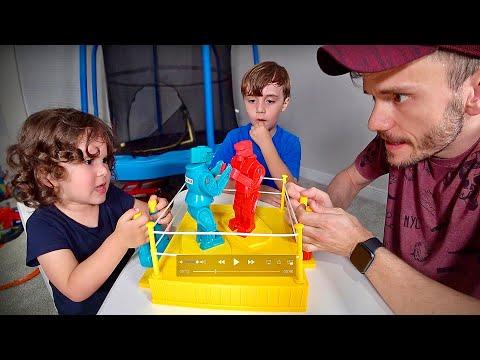 JOGO DE BOXE com MARCOS e LAURA - Brancoala Brinquedos