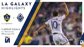 Don't miss the LA Galaxy take on the Vancouver Whitecaps. Watch it live on on Wednesday night on Spectrum Sportsnet at 7:30 PM PT.Want to see more from the LA Galaxy? Subscribe to our channel at http://www.youtube.com/LAGalaxy.Facebook: http://www.facebook.com/lagalaxyTwitter: http://www.twitter.com/lagalaxyWant to check out a game? Visit http://www.lagalaxy.com to view upcoming matches and purchase tickets!