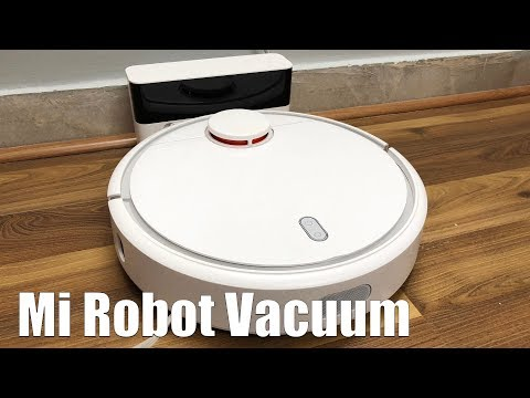 Mi Robot Vacuum Setup & Review - Automatic Vacuum Cleaner  It Works!