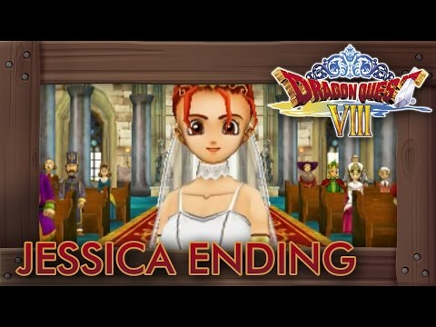 Dragon Quest 8 3DS - Jessica Ending (Alternate Marriage Ending)