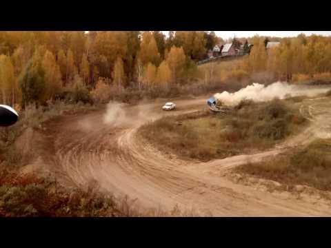 Страшная авария на ралли в Омске