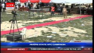 Gunfire At Rivers State APC Rally In Okrika