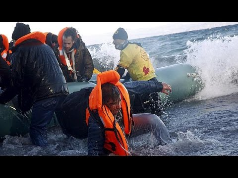 Λέσβος: οι πρόσφυγες, ο Γουεϊγουέι και ένα σύμβολο ειρήνης