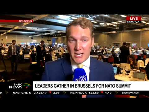 Update on NATO summit underway in Brussels: Jack Parrock