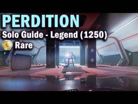 Perdition - Legend Lost Sector -  Solo Guide - 1250 Power - Destiny 2 Beyond Light