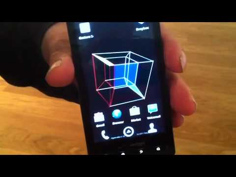 Video of 4D Hypercube Live Wallpaper