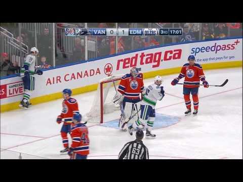 Video: Vancouver Canucks vs Edmonton Oilers | NHL | 18-MAR-2017