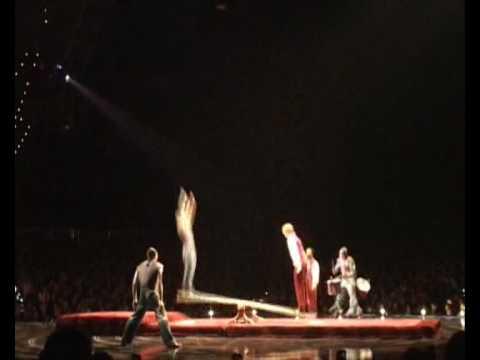 Cirque Du Soleil Teeterboard Blooper Reel - Corteo Japan