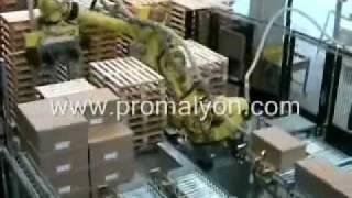 Cartons cerclés (ventouse)