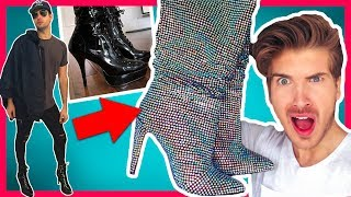 Video WE TRIED WEARING HIGH HEELS FOR A DAY! MP3, 3GP, MP4, WEBM, AVI, FLV Juni 2018