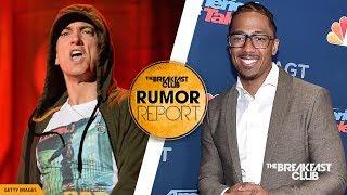 Nick Cannon Drops 2 Eminem Diss Tracks, Eminem Responds