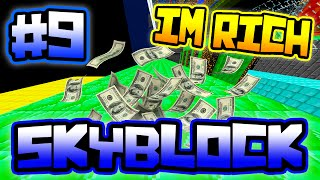 WE ARE GETTING SO RICH!! | Server SkyBlock in Minecraft #9