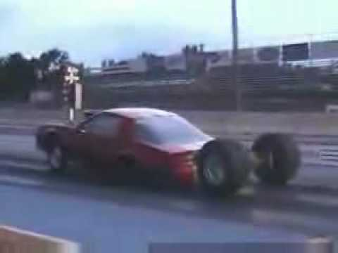 Funny Car Wrecks Caught On Video