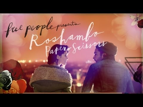 roshambo - Free People has launched the final film, titled 'Roshambo: Paper-Scissors,' in the 'Roshambo' series to conclude the compelling story of two lovers, played b...
