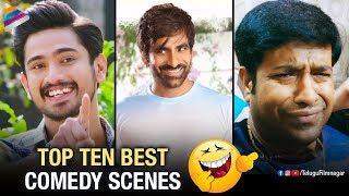 Video Top 10 Best Telugu Comedy Scenes | Raja The Great | Raju Gari Gadhi | Lover | Telugu FilmNagar MP3, 3GP, MP4, WEBM, AVI, FLV Oktober 2018