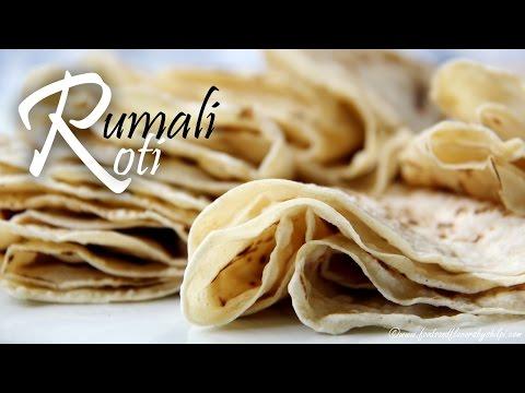Rumali Roti Recipe   Soft Home Made Rumali Roti Recipe by Shilpi
