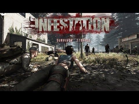 Видео обзор игры Infestation Survivor Stories (The War Z) Апокалиптическая зомби MMORPG игра.