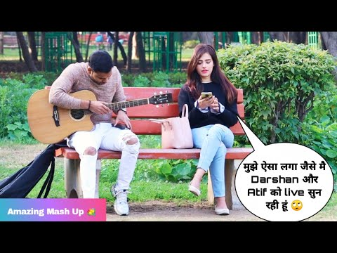 Darshan Raval & Atif Aslam Song Special Randomly Singing Reaction Prank | Siddharth Shankar