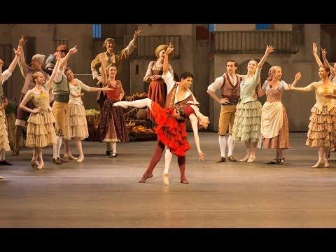 Don Quixote rehearsal trailer (The Royal Ballet)