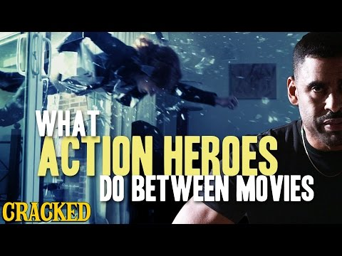 Akční hrdinové mimo natáčení