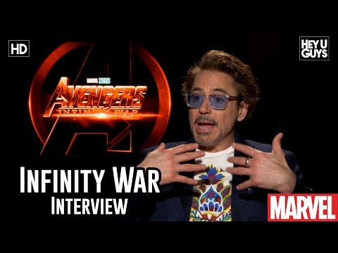 Robert Downey Jr. On Blu-ray Extras - Avengers Infinity War Interview