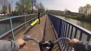 time-lapse strasbourg à vélo