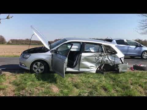 Wideo1: Wypadek Siedlec - Pępowo