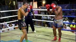 Baya Wan Chorenrit Vs Lion Tiger Muay Thai Koh Phangan