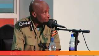 How Kayihura was grilled by the commission.