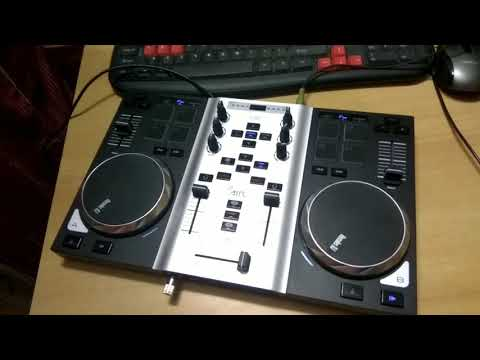 How to mix 2 tracks in a dj deck..😊.Tutorial.