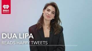 Video Dua Lipa Reads Fan Tweets! | Happy Tweets MP3, 3GP, MP4, WEBM, AVI, FLV April 2018