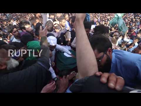 Huge anti-India protests erupt in Kashmir amid deadly clashes