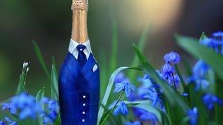 Урок по handmade, бутылка