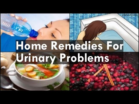 Home Remedies For Urinary Problems
