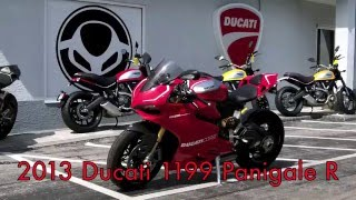 5. Pre-Owned 2013 Ducati 1199 Panigale R at Euro Cycles of Tampa Bay