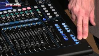 Allen & Heath Qu-32 Digital Mix Console Overview - Sweetwater ...