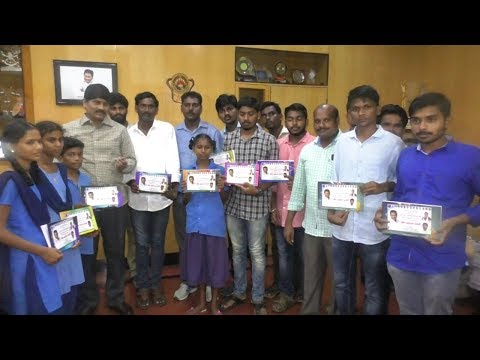 Note Books Distribution by Ysrcp Student Union in Visakhapatnam,Vizagvision...
