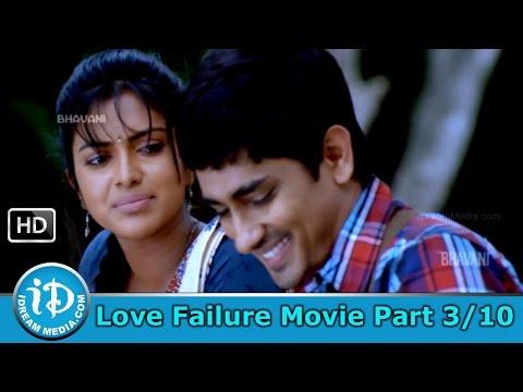 Love Failure Movie Part 3/10 - Siddharth - Amala Paul