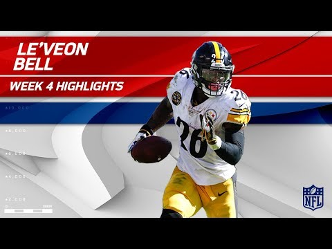 Video: Le'Veon Bell Explodes w/ 186 Total Yards & 2 TDs | Steelers vs. Ravens | Wk 4 Player Highlights